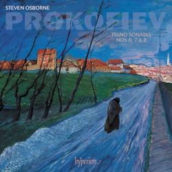 Piano Sonatas nos. 6, 7 & 8 by Prokofiev ;   Steven Osborne