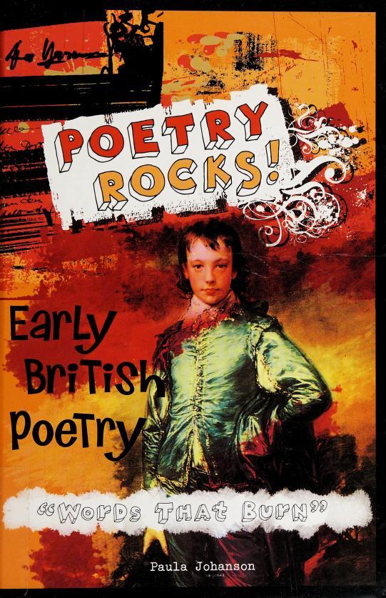 Early British poetry by Paula Johanson